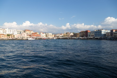 Chania-harbour