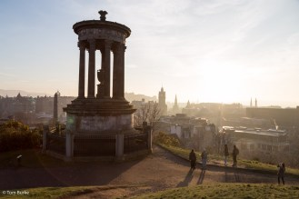 Douglas memorial, Calton Hill