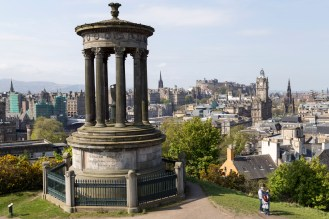 The classic view - the Stewart Memorial and skyline beyond