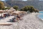 The stony beach