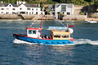 The South Sands ferry!