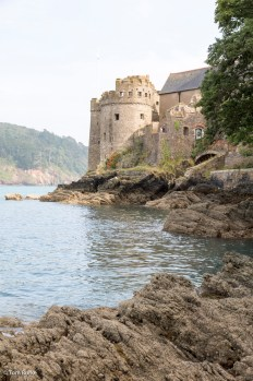 Dartmouth Castle and St Saviour's church