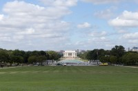 The Lincoln Memorial from further up the Mall