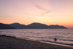 Sunset from Bora Bora
