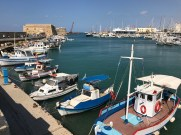 Heraklion harbour