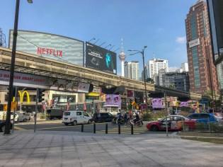 Street scene, Bukit Bintang, KL