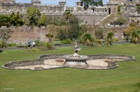 Culzean Castle formal garden