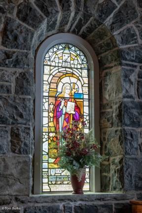 Window in Kilmore Church, Dervaig