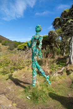 Woodland walk sculpture