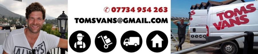 Local man with a van in Bristol, Brighton & Hove