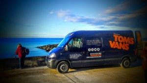 Tom's Vans - Man with a Van Service in Bristol. Our new Bristol Removals Van!