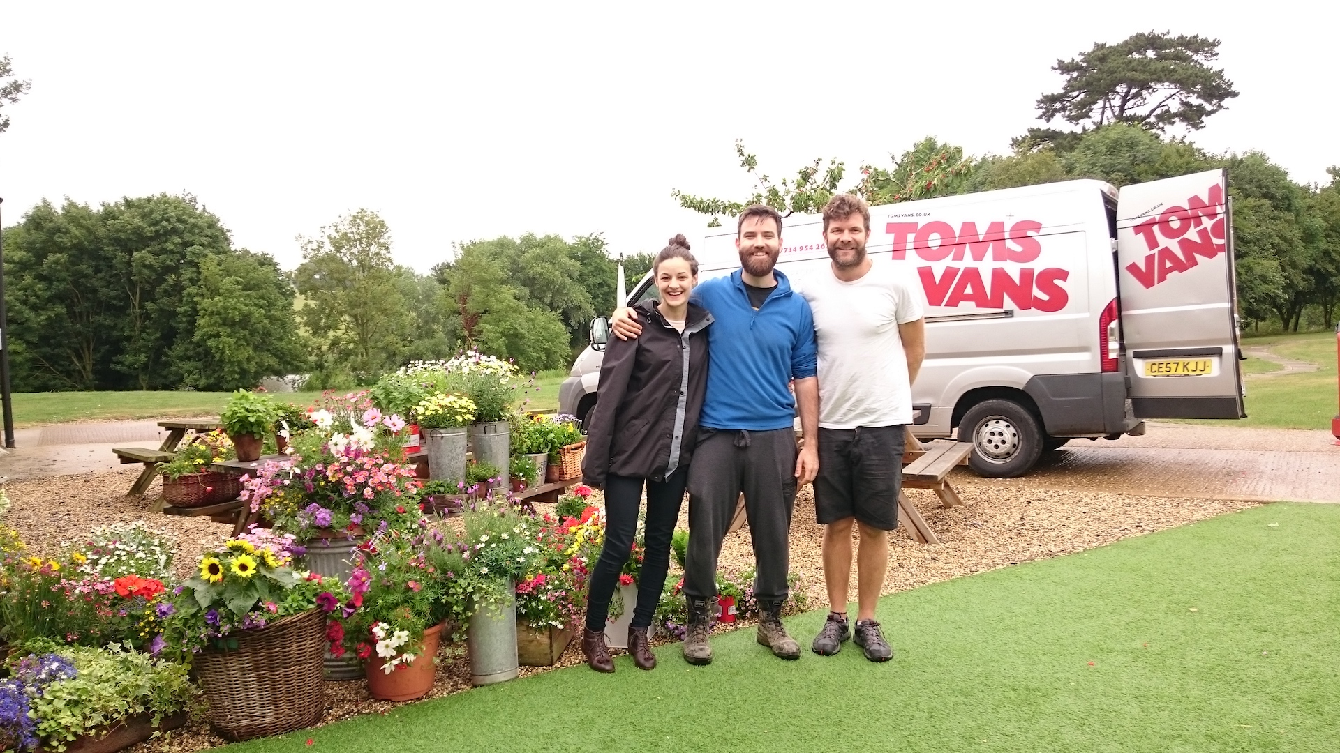 If you're hosting or organising an event in Bristol and need transport contact Tom's Vans Bristol!