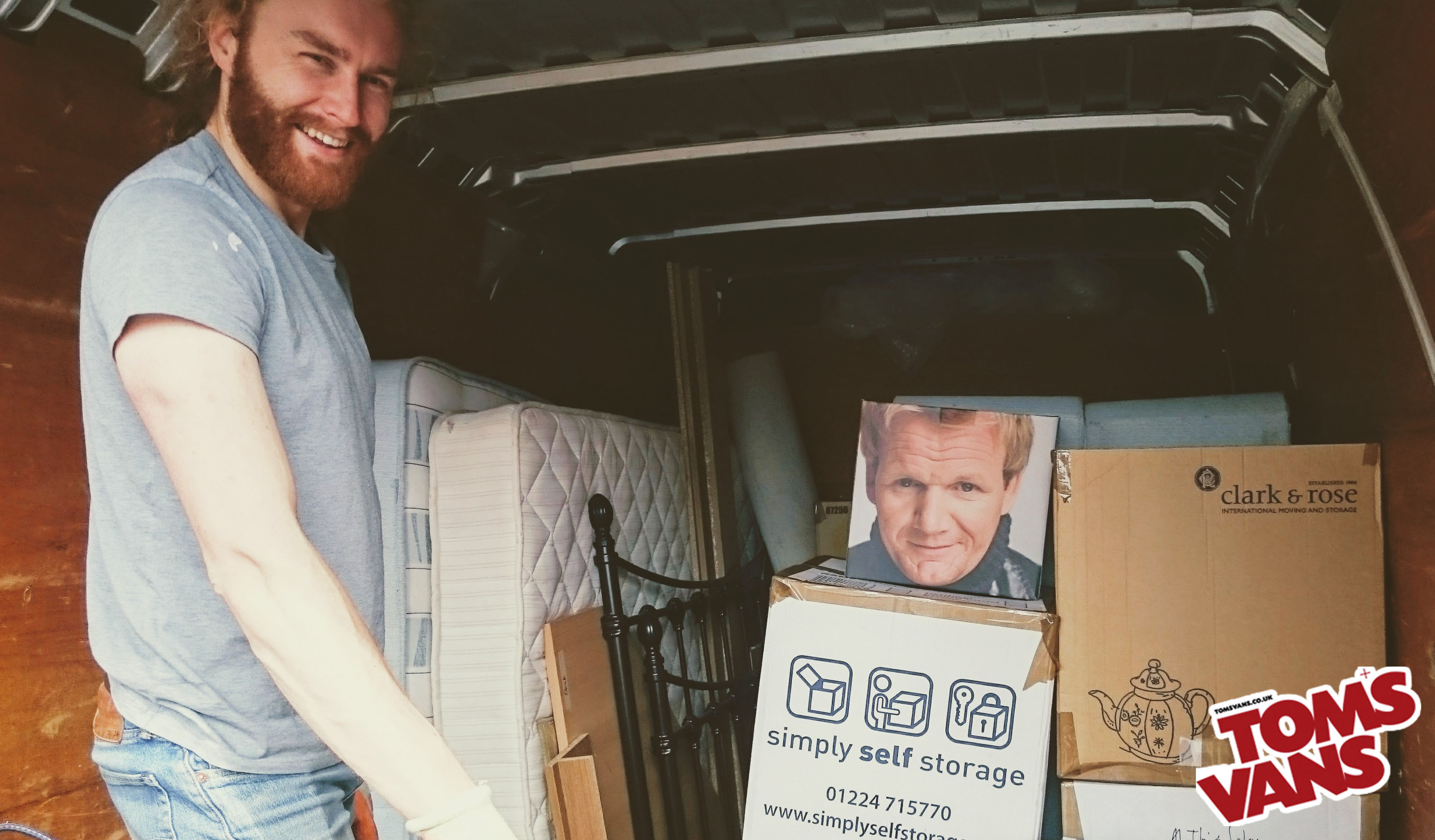 Local man and van delivery and home removals service in Bath, Bristol & Brighton