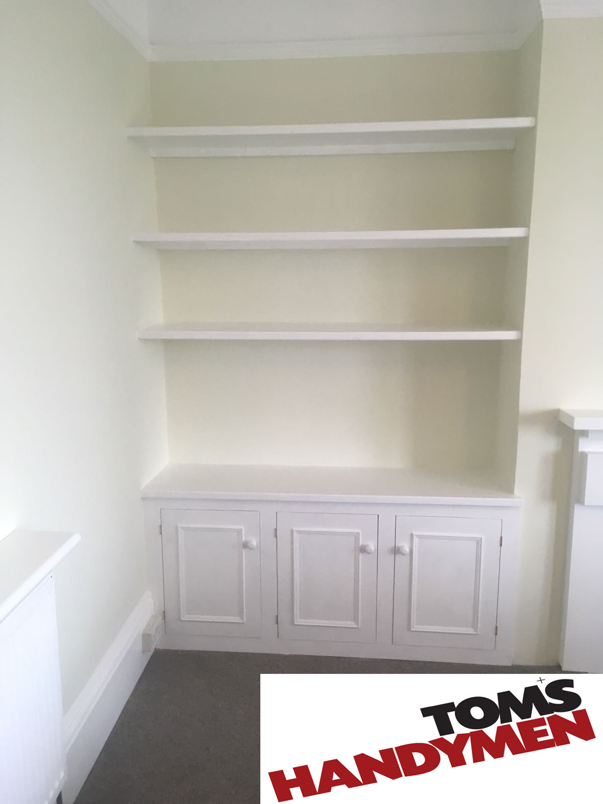 Tom's Handymen in Brighton offer fantastic carpentry solutions such as bespoke handmade furniture, decking, shopfitting and officefitting