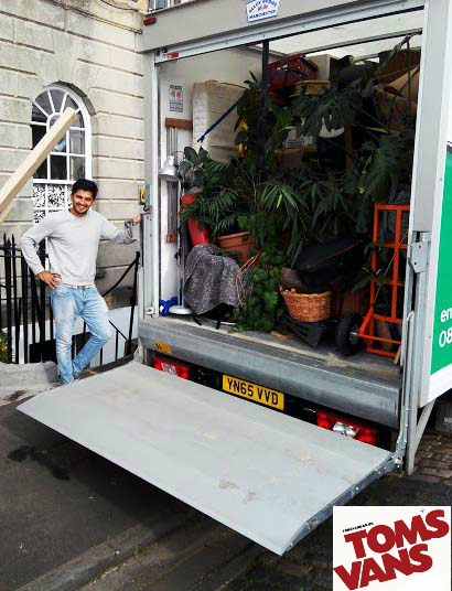 Local man and van removals company in Bristol