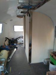 Airstream Interior Ausbau Nasszelle