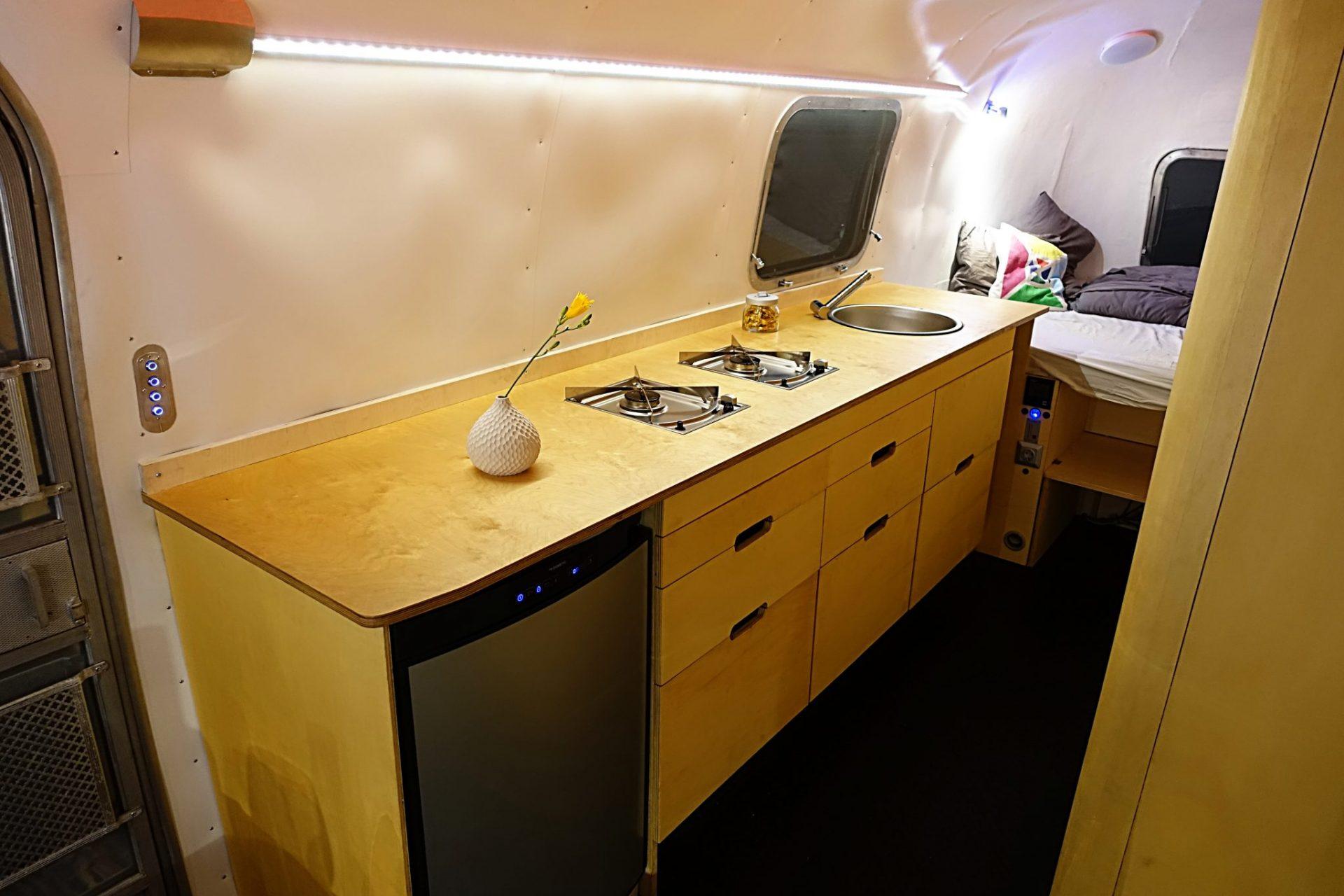 Airstream Küche | Vermietung