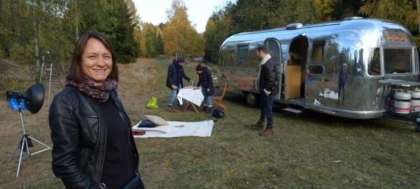 Airstream | Fotoshooting für Haflinger Schuhe