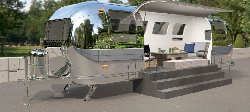 Airstream Mobile Stage