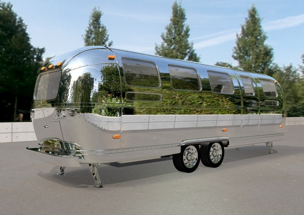 Airstream mobile Promotion Stage