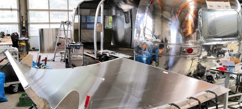 Airstream – Umbau einer Mobile Stage