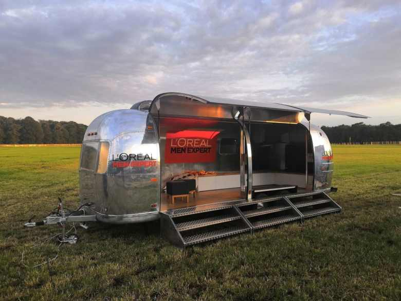 Airstream Mobile Stage Eventtrailer mieten