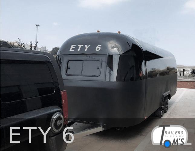 ETY 6 Foodtrailer schwarz