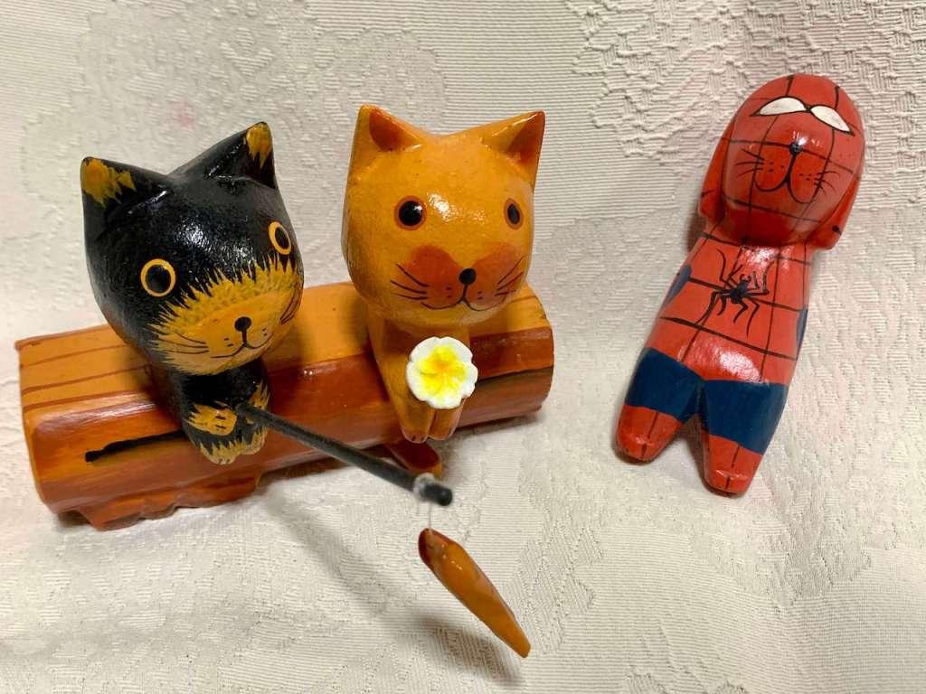 バリ島で買える猫の置物