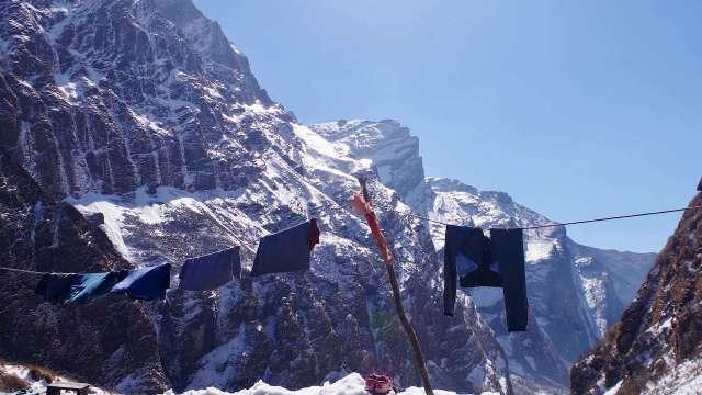 ヒマラヤ山脈の景色
