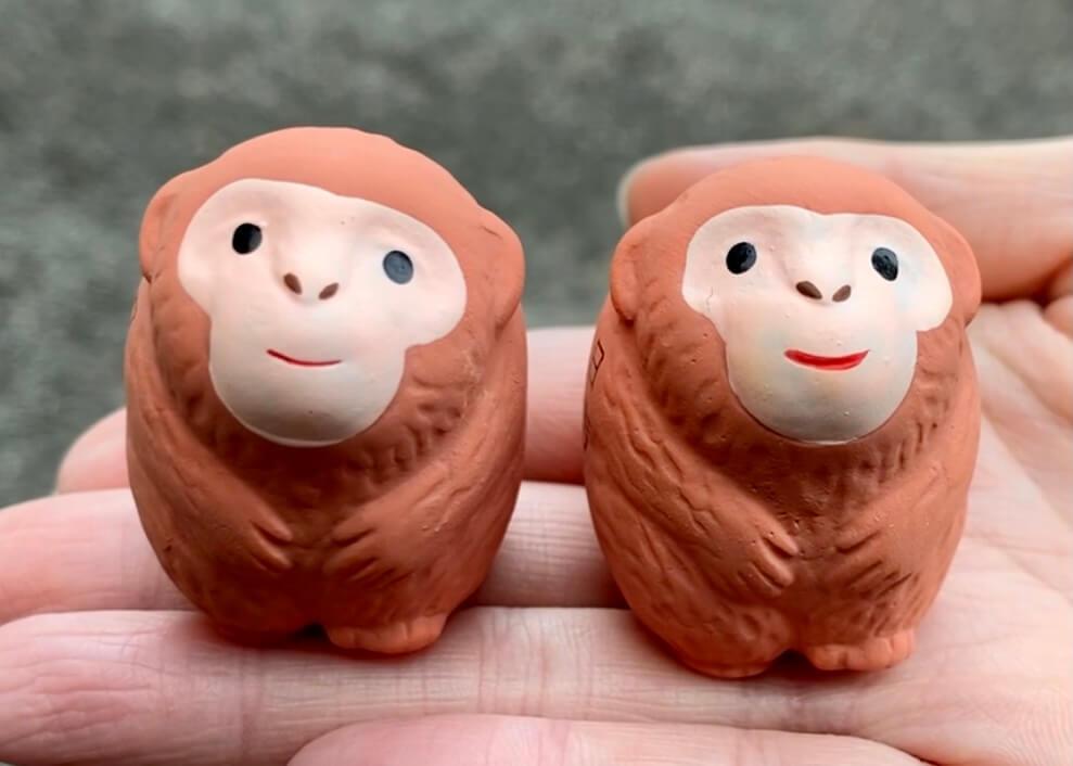 日吉大社の猿みくじ