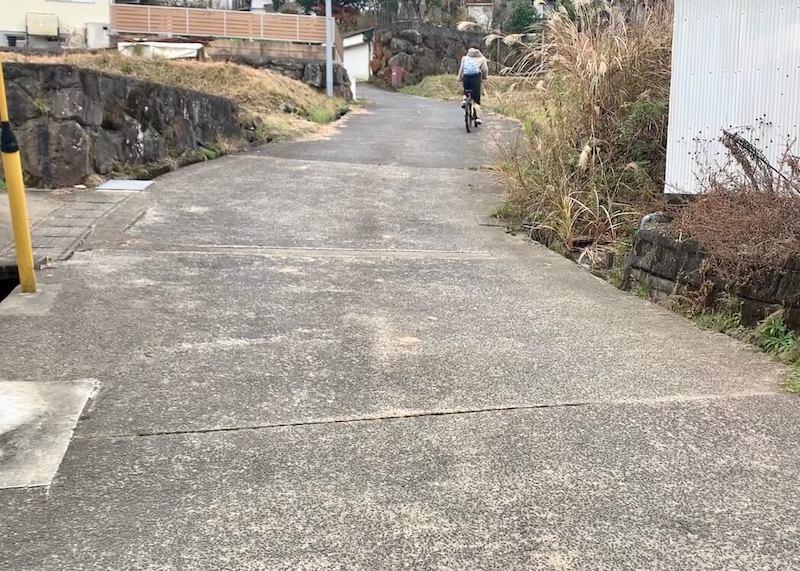 由布院でサイクリング