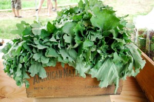 kale in box