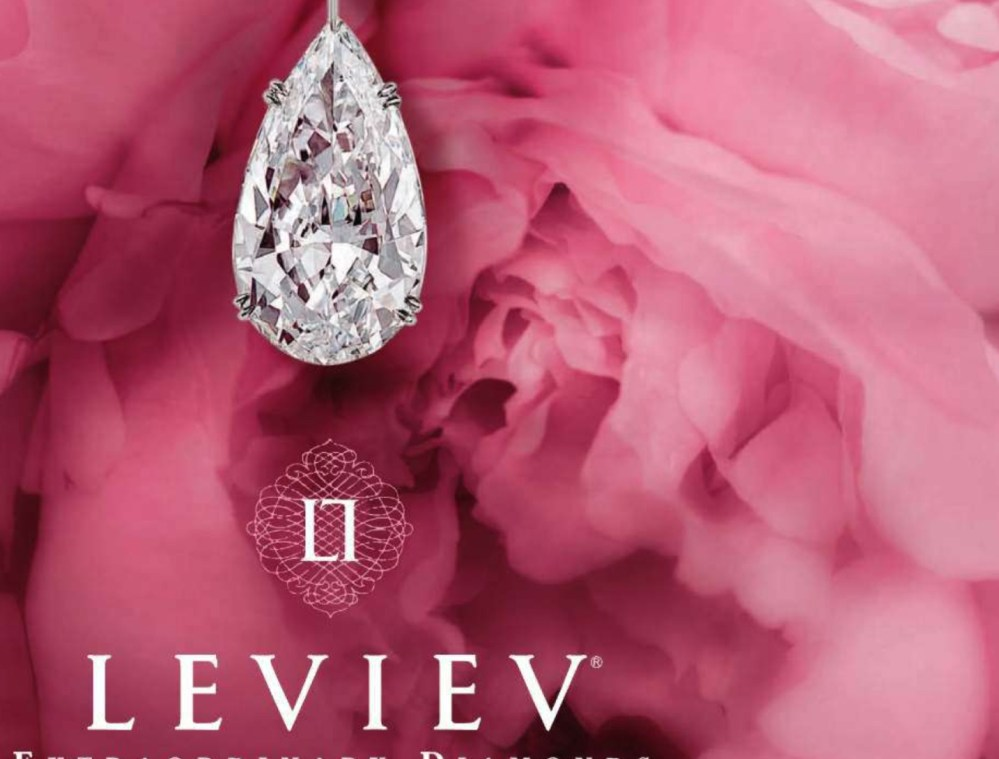 Leviev, Extraordinary Diamonds and wierd subliminal embeds (6/6)