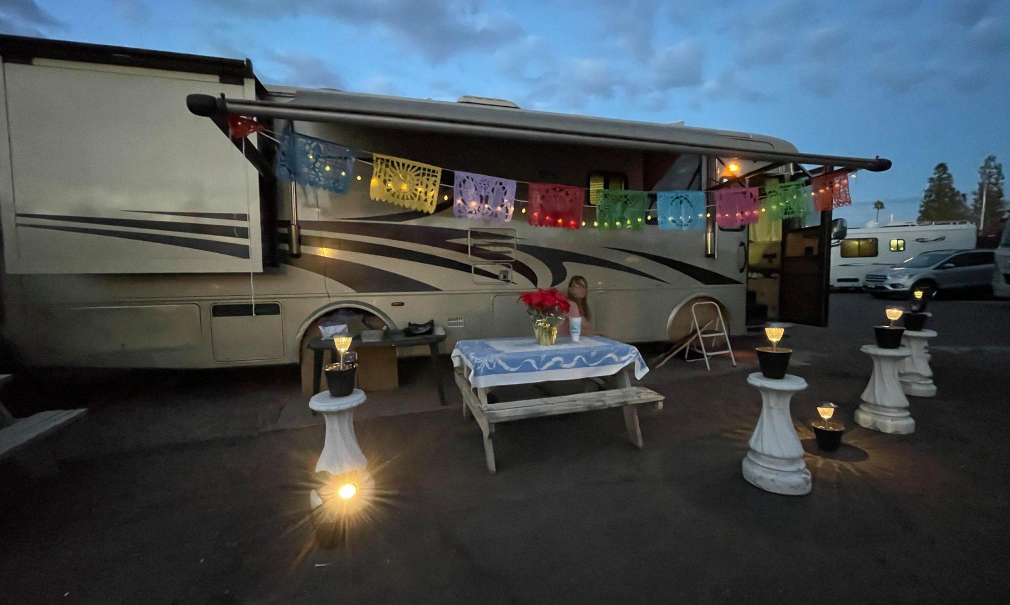 Tiffany RV Park - Mesa AZ - Monaco Diesel Pusher