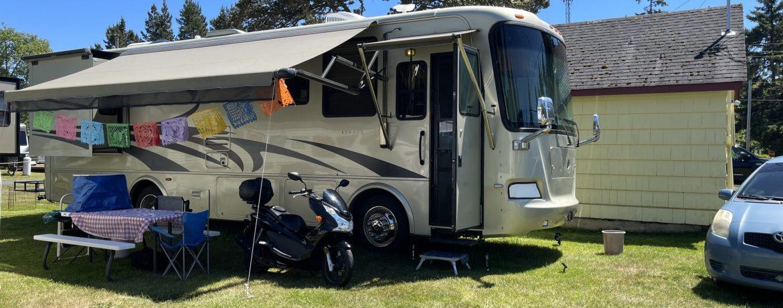 Cranberry RV Park-Long Beach WA-Monaco Class A Diesel Pusher