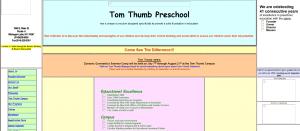 tom thumb preschool old website