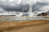 Geo-thermal landscape