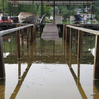Flood Waters Rising at Lake of the Ozarks