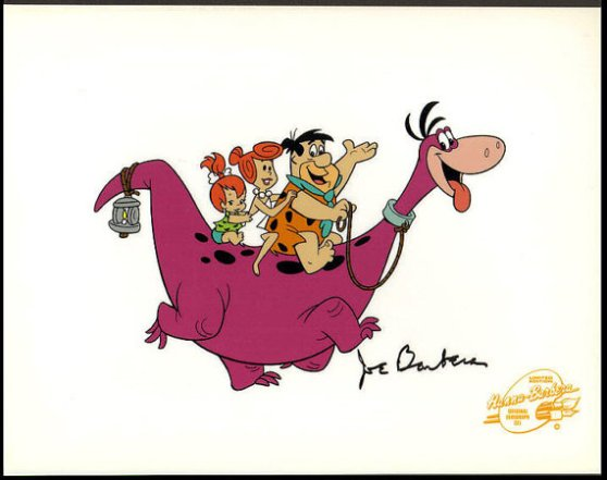 Original Flintstones cell