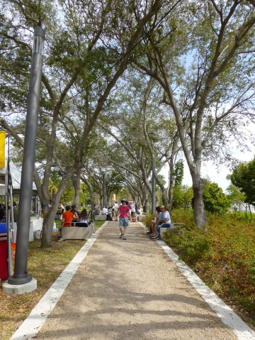 Regatta Park, one of the sites for the Arts Festivals.