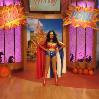 Wendy Williams as her favorite comic character.