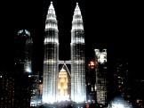 Patronas Towers, vanaf een ander hoog gebouw