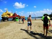 Zelfs op het strand hebben ze tempels