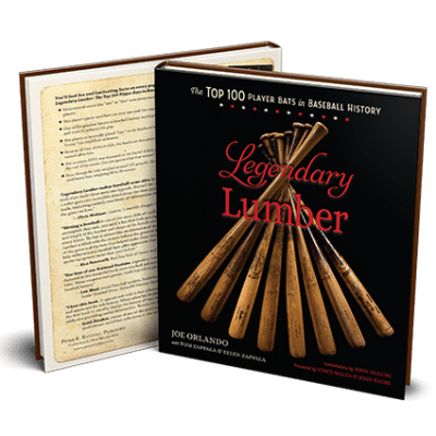 Legendary Lumber - Baseball Collectors Book