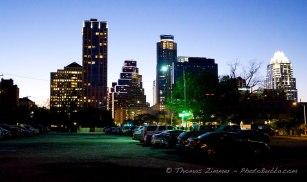Beautiful skyline as usual downtown