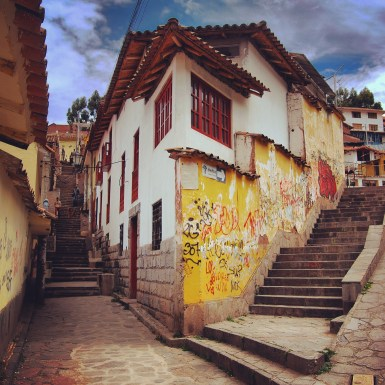 A Beautiful Street Corner in Cusco