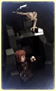 Gollum and Frodo by Simon Q
