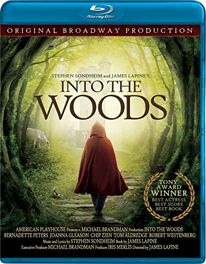 Into the Woods stage video cover art