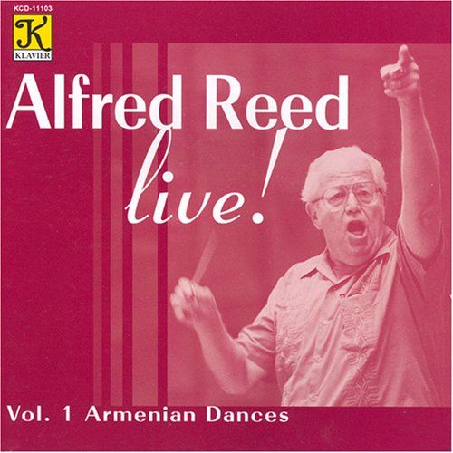 Alfred Reed Volume 1 cover art