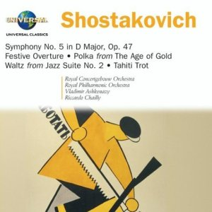 Shostakovich: Symphony No. 5, Festive Overture, Orchestral Works cover art